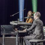 """Konstantin Wecker """"Poesie und Musik mit Cello und Klavier. 03.03.2018. Alte Oper (Erfurt). Fotografien: Johannes Piehler. Im Bild: Jo Barnikel, Fany Kammerlander"""