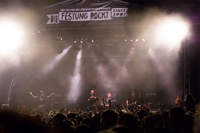 Die Festung Rockt-Festival in Kronach: Millencolin