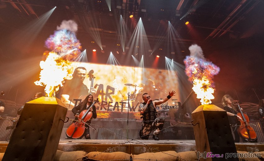 """ SABATON auf großer Europa-Tournee– ""The Great War Tour"