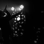 """Diary of Dreams """"Hell in Eden"""" - die Darkwave-Formation um den charismatischen Frontmann Adrian Hates gab am 11. Oktober 2019 ein Konzert in Erfurt. Jeder Song begleitet vom Geschrei der zahlreich erschienenen weiblichen Fans. Da können sich die Fans der Jonas Brothers noch eine Scheibe abschneiden. Als Support Act waren US aus Stockholm dabei. Fotos: Doreen Gaede. Im Bild: Diary of Dreams."""